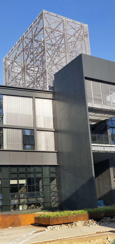 铝板网工程案例